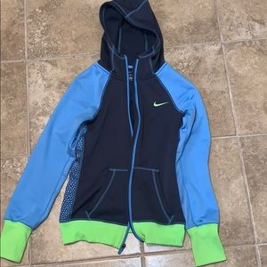 Nike Therma-Fit Blue and Green Men SIze  small